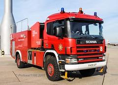 BAA Heathrow Scania X428 ACF (policest1100) Tags: baa heathrow scania x428 acf