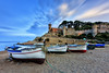 Tossa de Mar (Explore 7-11-2017) (Txeny4) Tags: tossa de mar gerona cataluña barcas castillo cielo largaexposicion nd nisi atardecer agua firecrest filtros lucroit canon crepuscular calma cala txeny4