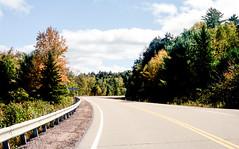 Highway 35 and Clouds_ (Bill Smith1) Tags: believeinfilm billsmithsphotography haliburtons heyfsc kodakektar100 muskoka olympusom2n zuikomc50f18lens