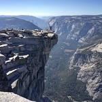 One-eyed pirate photographer on Half Dome thumbnail