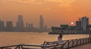 Magnificent sunrise- HongKong China