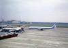 Loftleidir Icelandic Douglas DC-8 taxiing past EC-CID Iberia Boeing 727 at London Heathrow (heathrow.junkie) Tags: loftleidir icelandic dc8 douglasdc8 iberia boeing727 727 sabena 707 boeing707 lhr londonheathrow queensbuilding london