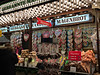 2016 Frankfurt: Christmas Market #5 (dominotic) Tags: 2016 altstadtoldtown römerberg iphone6 frankfurtchristmasmarket people publicsquare glugwein fooddrink magenbrot biscuit red sign green blue white frankfurt germany
