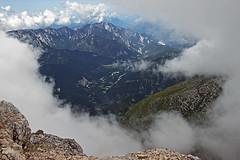 Window in clouds (Vid Pogacnik) Tags: slovenia slovenija kanin julianalps hiking outdoors mountain landscape italy italia clouds