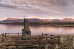 Reflections at sunset (Sizun Eye (OFF for a while)) Tags: vesturhópsvatn lake sunset reflections monument nordwestern iceland islande moody light sizuneye nikon d750 tamron2470mmf28