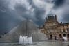 Musee du Louvre (hugo.sergio) Tags: hugosergio france d750 building museedulouvre louvre clouds 2017 glass paris fountain museum architecture hugosergiophoto sky nikon pyramid europe travel trip instagram
