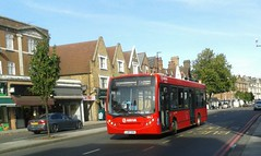 Banditry | Arriva London South ENL5 LJ07EDC | 255 to Pollards Hill (Unorm001) Tags: red london single deck decks decker deckers buses bus routes route diesel transport for tfl adl alexander dennis limited enviro 200 enviro200 e200d e200 e20d 200d dart e200dart enviro200dart