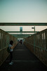 on the overpass (N.sino) Tags: m9 summilux50mm mitaka overpass sky 三鷹 陸橋 夕方