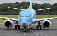 G-FDZU Boeing 737-8K5 TUI Airlines (R.K.C. Photography) Tags: gfdzu boeing 7378k5 b737 thomsonairways tui tom by aviation closeup luton bedfordshire england unitedkingdom uk londonlutonairport ltn eggw canoneos100d