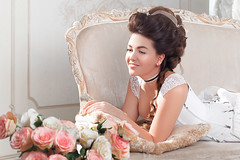 IMG_3263 (dr.mariagoncharova) Tags: rococo baroque costume corset pink hair makeup cake highkey