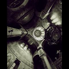 δύναμις (fusion-of-horizons) Tags: mitropolia veche târgoviște targoviste catedrala arhiepiscopala mitropolitana cathedral church biserica architecture arhitectura orthodox târgovişte wallachia muntenia tara romaneasca orthodoxy ορθοδοξία ορθόδοξοσ light lumina romania interior naos nave plan cruce greaca inscrisa inscribed greek cross iconography iconografie dome vaulting cupola pendentives pendentive pandantiv pandantivi fisheye andre lecomte du nouy architect arhitect romanian lmidbiima1728301 icoana icon icoane icons mural murals eikōn painting pictura art arta eastern ortodoxa romana ortodoxă română bor clădire arhitectură patrimoniu monument arch arc