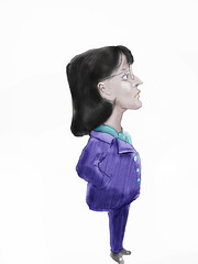 Teacher Poised (Robin Hutton) Tags: sketch colleague teacher poised robin hutton robinhuttonart