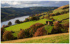 Autumnal Beauty. (Ian Emerson) Tags: derwent reservoir buildings farmland greenery colourful colours canon derbyshire fields trees october hiking 1855mm lightroom framed