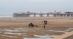 A cool weekend in Blackpool (cousinsmalcolm) Tags: windy people amusements sand blackpool beach