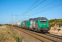 BB75000 by maurizio messa - SNCF 475425 + 475415 - 85511 (Miramas - Gardanne) - Saint Chamas - 17.05.2014