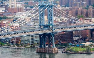 Brooklyn Tower of the Manhattan Bridge, DUMBO, New York City