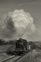 Early goods (Jacobite52) Tags: 5199 gwr nymr train northyorkshiremoorsrailway railway steam goathland