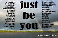 20170805-IMG_5530-WM JUST BE YOU (Pamela McLellan Zmija) Tags: justbeyou beunstoppable yourlifeasartessentials yourlifeasart happiness reallife healthandhappiness whoareyou beyou beyoutiful rainbow water lake cottagecountry landscapephotography lifestylephotography