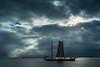 HOLLAND (WeVe1) Tags: holland boat markermeer water sky blue lake volendam