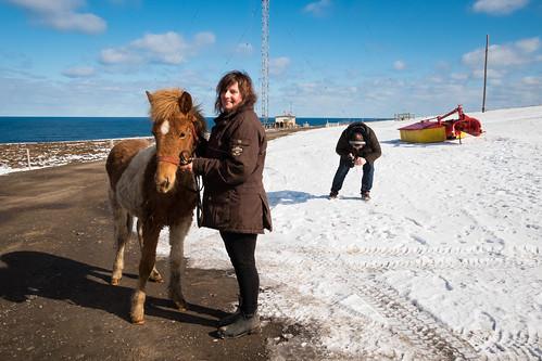"""Herdís Erlendsdóttir á Sauðanesi í N4 upptöku • <a style=""""font-size:0.8em;"""" href=""""http://www.flickr.com/photos/22350928@N02/37942799516/"""" target=""""_blank"""">View on Flickr</a>"""