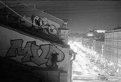 (sele3en) Tags: filmphotography ilford ilfordpan400 ddx ilfotecddx darkroom russia russiangraffiti graffitiphotography rooftop saintpetersburg saintpetersburggraffiti andie andiemvp rizeone andiegraffiti sprayart tag tagging graffiti urban urbanlife russianlife blackandwhitefilm 35mm 35mmphotography 35mmgraffiti film selone homedevelopment homemade documentary