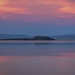 Negit Island at Sunset