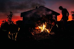 Fire in the sunset by Giacomo Vesprini (iN-SiDE) -
