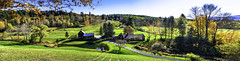 Woodstock Vermont Panorama October 21 2017 (Chad Straw Images) Tags: fall autumn foliage vermont woodstockvermont newengland travel traveling travelphotography panorama panoramic color discover earth amazing beautiful landscape landscapes landscapephotography nikon nikonphotography nikond610 america farm farmhouse country countryliving yankeemagazine wonderful wonderfulplaces