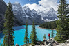 Moraine Lake | Banff National Park | Canada (fiston22) Tags: lake morainelake canada banffnationalpark mountains wild blue