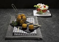 Croquetas de boletus (Frabisa) Tags: croquettes boletus mushrooms delicious homemade béchamel creamy snacks croquetas setas delicioso casero bechamel cremosas aperitivos