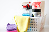 Cleaning Supplies on a White Container (wuestenigel) Tags: cleaningsupplies products whitebackground isolated spaybottles clean whipes noperson keineperson soap seife plastic kunststoff bottle flasche hygiene housework hausarbeit family familie container bathroom badezimmer health gesundheit treatment behandlung healthcare gesundheitswesen towel handtuch bath bad stilllife stillleben medicine medizin reinigen merchandise waren color farbe toiletries toilettenartikel