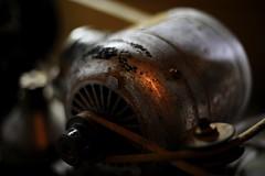 Electric motor ... (mkk707) Tags: nikond700 voigtländernokton58mmf14 nikonnoktonstyle bokeh vintage machinery