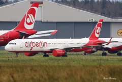 Air Berlin (Belair) A321-200 HB-JOX (birrlad) Tags: shannon snn international airport ireland aircraft aviation airplane airplanes airline airliner airlines airways storage airbus a321 a321200 a321211 hbjox airberlin belair