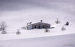 Refugio de Arraba (Jabi Artaraz) Tags: jabiartaraz jartaraz zb euskoflickr arraba aterpetxea refugio nieve invierno winter frío blanco sombras nature natura elurra hotza