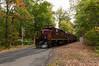 Upper Mountain Road (Dan A. Davis) Tags: newhopeivyland nhi newhopeandivylandrailroad newhope gp9u railroad locomotive train passengertrain pa pennsylvania buckingham wycombe buckscounty fall foliage