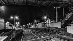 Castlerock railway station (jac.photography49) Tags: blackwhite