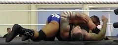 Iestyn Rees vs Tyson T-Bone (jacquemart) Tags: iestynrees tysontbone wrestling wrestler match heavyweight evolutionwrestling bristol