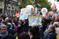 Manif fonctionnaires Paris contre les ordonnances Macron (Jeanne Menjoulet) Tags: manif fonctionnaires paris ordonnances macron loitravail manifestation mass protest street demonstration labourlaws strike demo civilservants cgt ouverture chasse