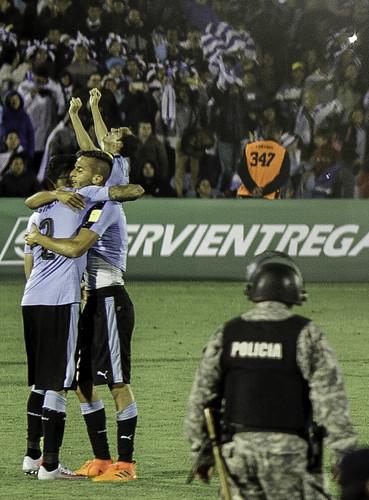 Uruguay 4 - Bolivia 2 | Camino a Rusia! | 171011-0378-jikatu