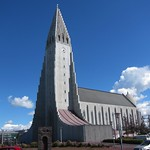 Iceland ~ Reykjavik ~ Capitol of Iceland ~  Hallgrímskirkja Lutheran Church  ~ Side Trip from Ultramarathon Hike thumbnail