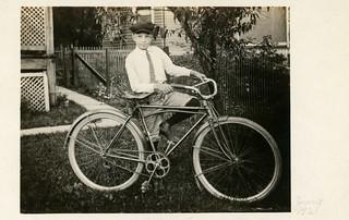 Lewis Metzler and His Bicycle, Williamsport, Pa., June 1921 (Full Version)