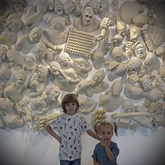 2017.10.12 (maximorgana) Tags: lido rico lidorico ricorpus maria juanjo muram cartagena sculpture siblings mask skull cross holding pain scream screaming