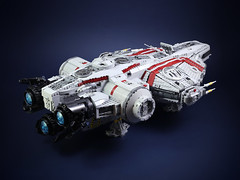 YT-1740 Arrowhead (ZiO Chao) Tags: lego starwars space spaceship freighter