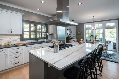 Benson Lane Kitchen and Fireplace 004
