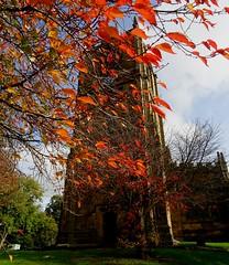 St Marys Church Autumn 2017 Mold Flintshire North Wales Oct 2017 (mrd1xjr) Tags: st marys church autumn 2017 mold flintshire north wales oct
