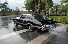 Oldsmobile 4-4-2 (Infinity & Beyond Photography) Tags: oldsmobile 442 classic muscle car wet rain florida