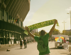 Una pasion (JoSSe G.) Tags: love betis sevilla realbetis bandera pasion futbol 2017 football