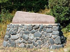 Centenary commemoration stone R1004220 Durango & Silverton RR (Recliner) Tags: baldwin dsng drg