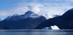 Vessel (little_frank) Tags: greenland nature scenery landscape fjord mount mountain sea iceberg cruise skyline