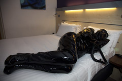 IMG_8960 (traveller-28) Tags: alien scifi pvc catsuit rubber latex gasmask breathplay fetish boots female linda jumpsuit totalenclosure gloves patent vinyl pintrst tumblr blog2mar2018